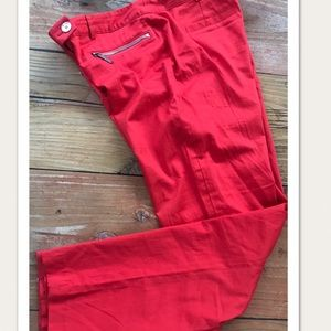 Michael Kors Lightweight Chinos Ankle Pants
